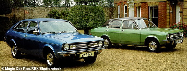 The Morris Marina was manufactured by the Austin-Morris from 1971 until 1980