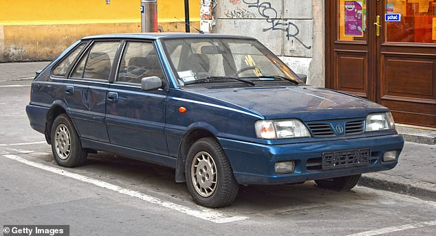 The Polonez went on to become one of the most popular cars in Poland in the 90s