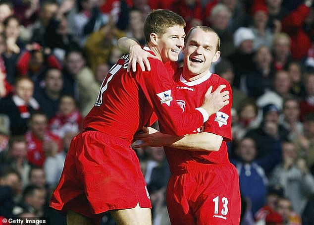 Steven Gerrard and I had a lively fall-out at Leeds - but he was still my mate afterwards