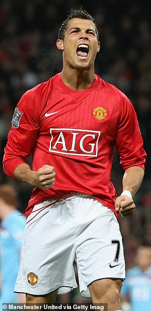 Ronaldo is a Manchester United legend who scored 118 goals in 292 games for the club