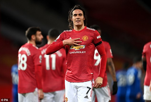 Saha also pointed to Edinson Cavani as an example for Martial as he 'gives a lot of energy'