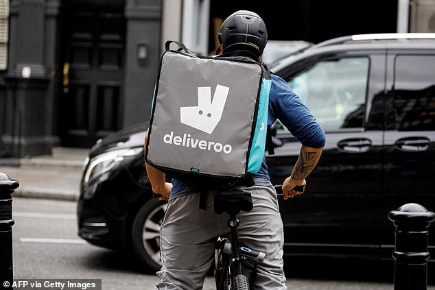 Deliveroo has announced a £16million 'thank you' fund for its riders with the most loyal workers set to receive up to £10,000 but unions have slammed the revelation as a 'PR stunt'