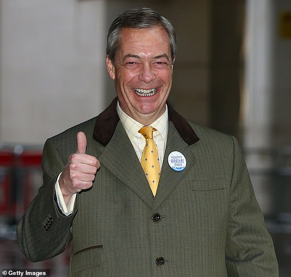 Mr Farage led Ukip several times before setting up the Brexit Party and recently rebranding it as Reform UK