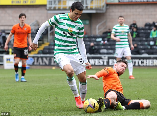 Despite Celtic's dominance, Dundee United dug their heels in and were resolute in defence