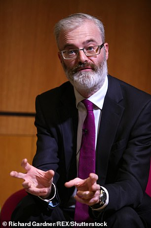 Head of the NHS Confederation Danny Mortimer (pictured) said that official waiting list could swell to unprecedented levels