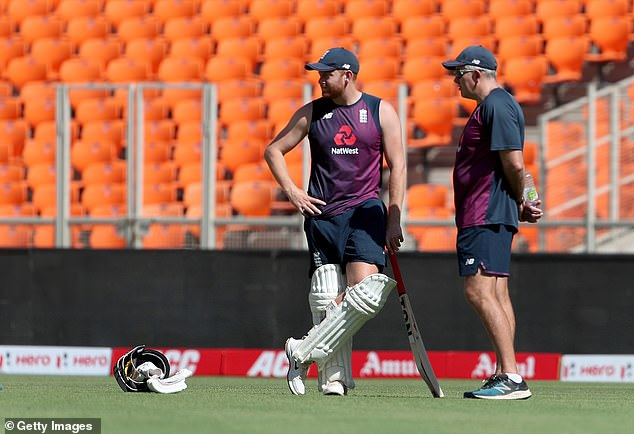 England coachChris Silverwood (right) is ready to continue his side's rest and rotation policy
