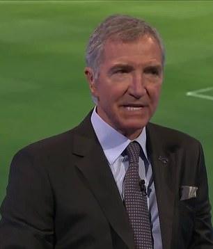 Fellow pundit Graeme Souness labelled the Brazilian striker as 'dopey'