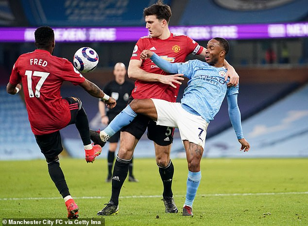 Raheem Sterling failed to take advantage of his chances against Manchester United