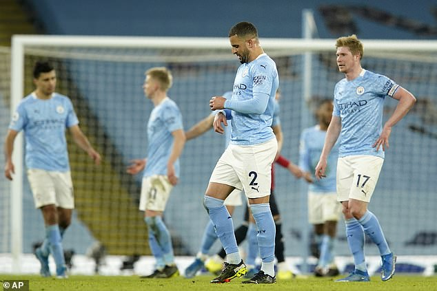Man City's 21 game winning streak came to an end against their bitter rivals on Sunday
