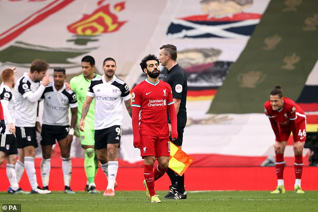 Mohamed Salah and his Liverpool team-mates had another disaster against Fulham at Anfield