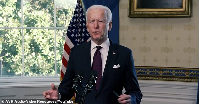 Owens also criticized liberals who think 'Joe Biden is the most popular American President of all time'