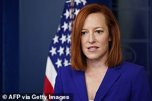 White House press secretary Jen Psaki was asked about Harry and Meghan's blockbuster interview with Oprah Winfrey and Monday's press briefing