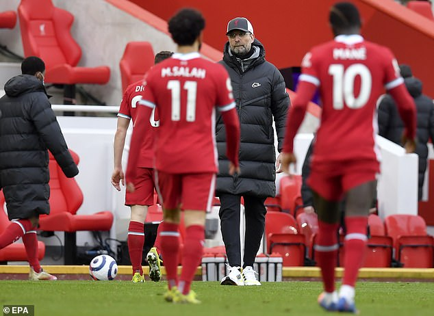 The Reds lost their sixth successive game at Anfield against Fulham at the weekend