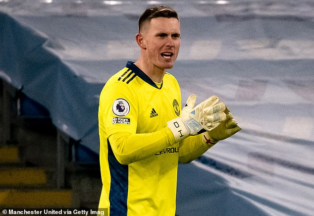 Dean Henderson (pictured) has never been afraid to state his claim at Manchester United
