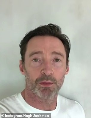 Hugh, 52, also took the opportunity to direct his fans to seek help for mental illness from charities like his own Gotcha 4 Life