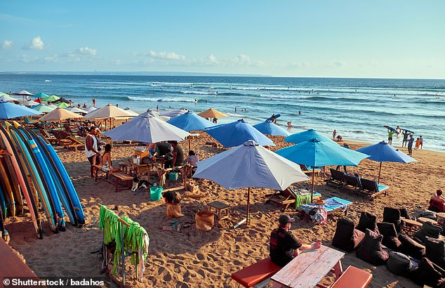 Bali's world class beaches used to lure in scores of eager tourists from all parts of the globe