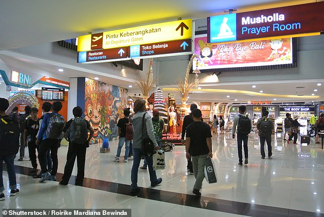 The international airport in Denpasar was bustling with tourists before the global pandemic