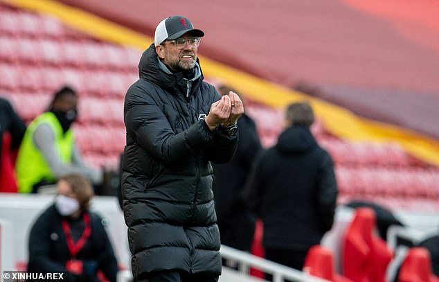 Liverpool fans fear their boss Jurgen Klopp will leave in the summer to take the Germany job