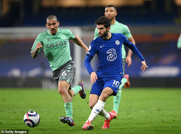 Pulisic, who came on in the 90th minute against Everton, could push for an exit this summer
