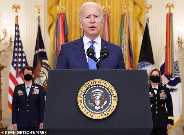 Joe Biden signed an executive order on his first day in office, which called for the combating of discrimination, including allowing students to compete under the chosen gender identity