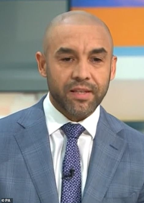 GMB weatherman Alex Beresford had told Piers: ' I understand that you don't like Meghan Markle, you've made it so clear a number of times on this programme, and I understand you've got a personal relationship with Meghan Markle and she cut you off'