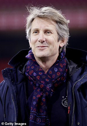 Van der Sar is currently chief executive at Ajax