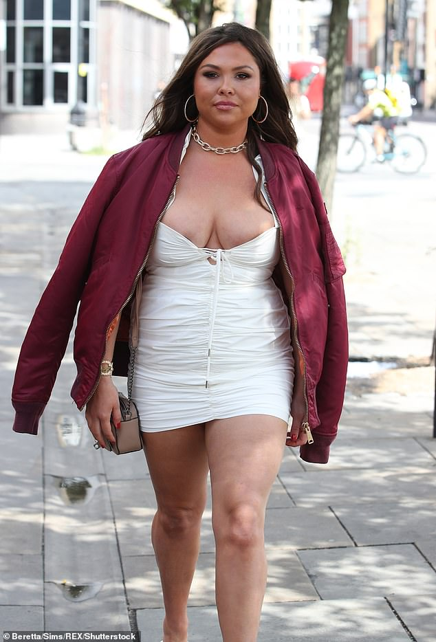 Regret:u00A0Fran also revealed she regretted buying the House Of CB dress but put her faith in the shop assistant recruited to help her because she was a size 14 and unused to buying clothes while that size