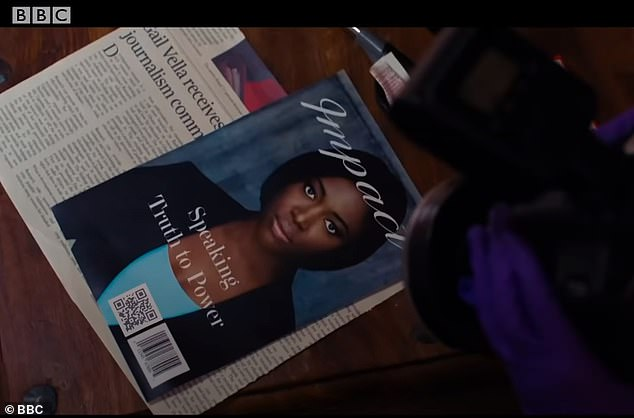 Scan me:Prior to season six, Osborne was connected to the show before it even aired. Eagle-eyed fans spotted that a magazine cover featured briefly in the trailer that included a QR code