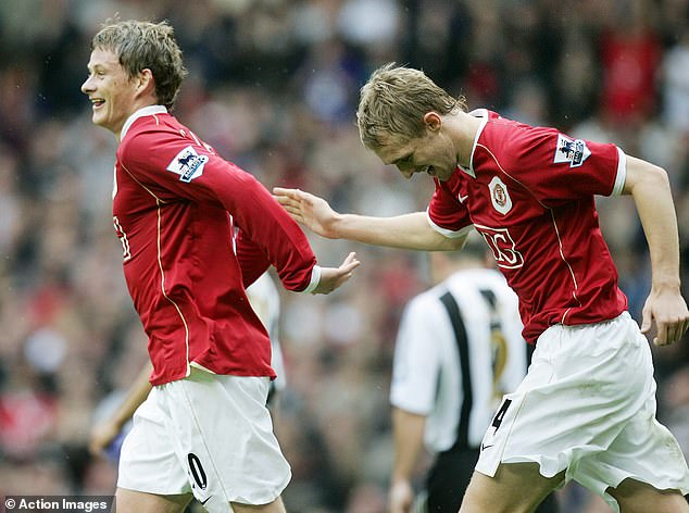 The Norwegian, who played with Fletcher for four years, said he had a 'bright eye' for the game