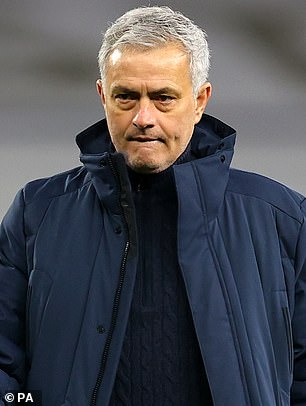 Jose Mourinho (pictured) vows to mark Daniel Levy's (right) 20 years as Tottenham chairman with a trophy this season