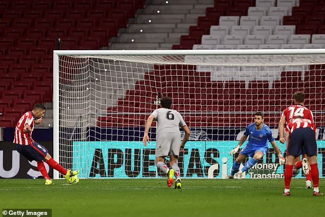 Suarez slotted the ball home from 12 yards six minutes after the break and it was the winner