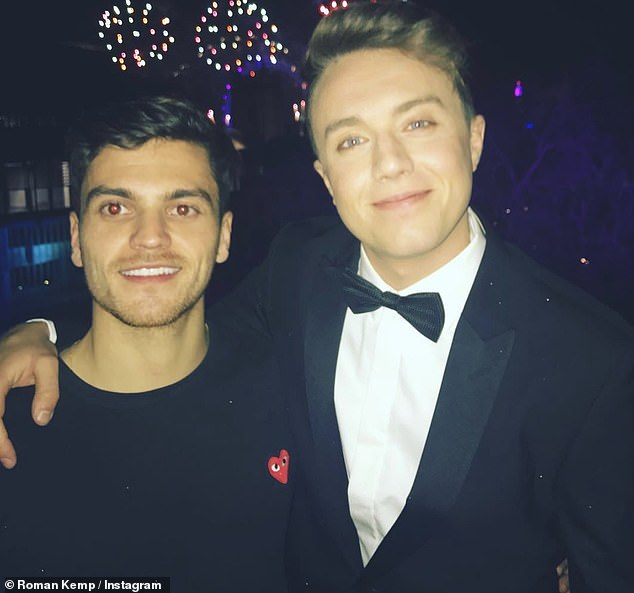 Sad: The star is set to front a new BBC documentary called 'Our Silent Emergency' about male suicide and mental health after the death of his friend Joe Lyons (pictured together)