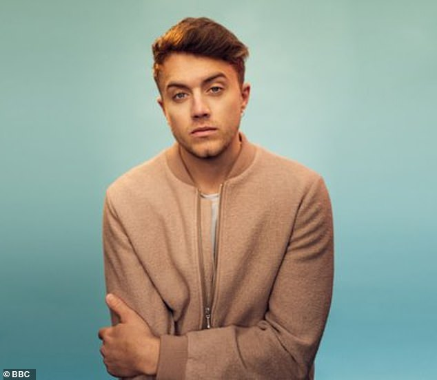 Honest: Roman Kemp has revealed he considered suicide during his 13-year battle with depression, admitting he thought about 'jumping in front of a train'