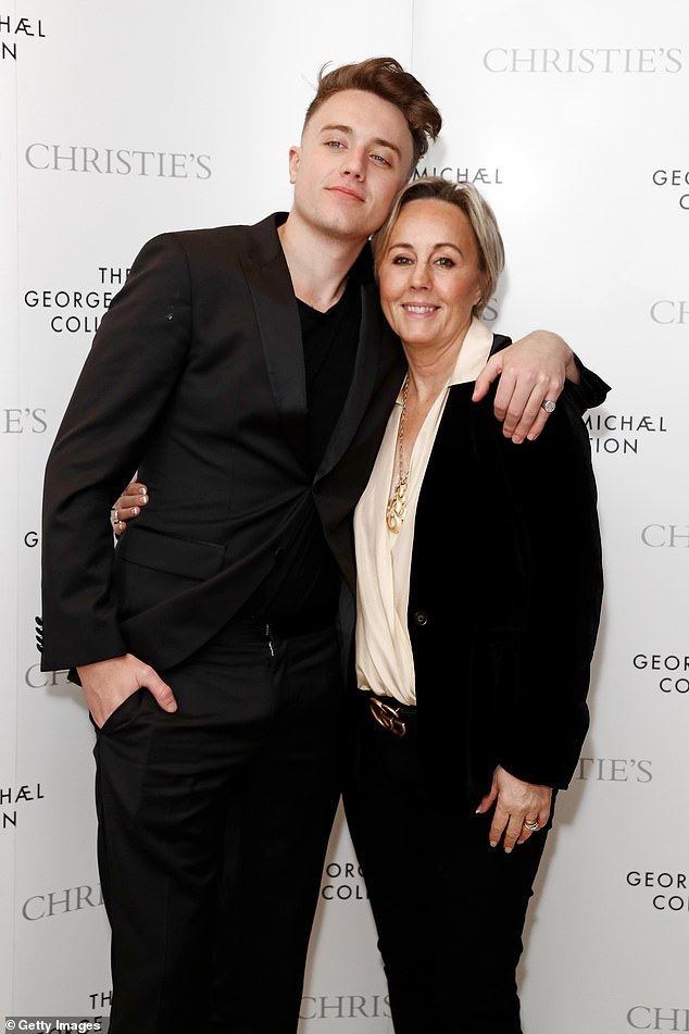 Family: The radio host, 28, reflects on his mental health with mum Shirlie during documentary Roman Kemp: Our Silent Emergency and previously said she 'saved his life' at his lowest point