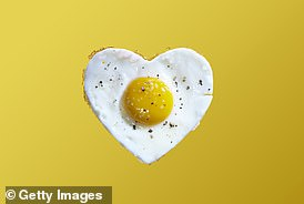 You may ask: aren't eggs full of cholesterol?