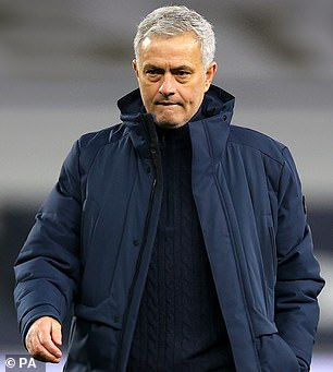 Jose Mourinho is set to make a number of changes as Tottenham face Dinamo Zagreb