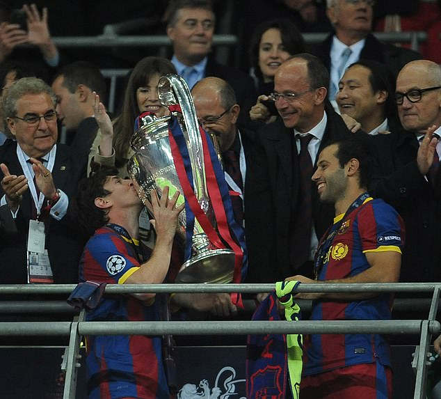 Mascherano forced his dream move to Barcelona and went on to win the Champions League