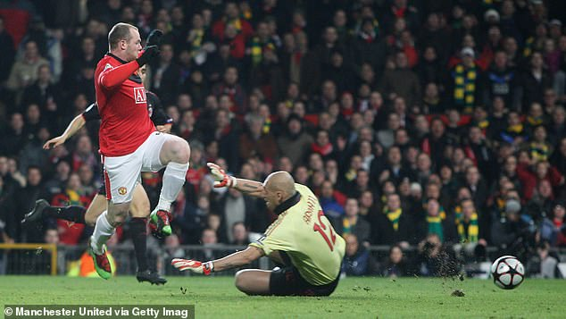 Wayne Rooney headed in the opener before tapping in a delicious pass from Nani