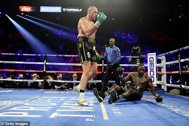 Fury became a heavyweight world champion for a second time by knocking down Wilder