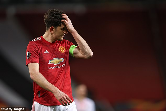 Maguire's miss proved costly after AC Milan equalised late on for a priceless away goal