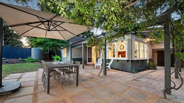 Stunning: Take a look inside Brendan and Alex Fevola's new home inHampton, Melbourne, which the couple reportedly bought for$3million