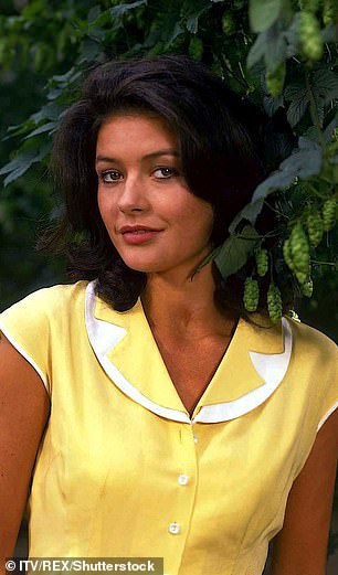 The original: Catherine Zeta Jones, (pictured) famously played the same role from 1991 to 1993