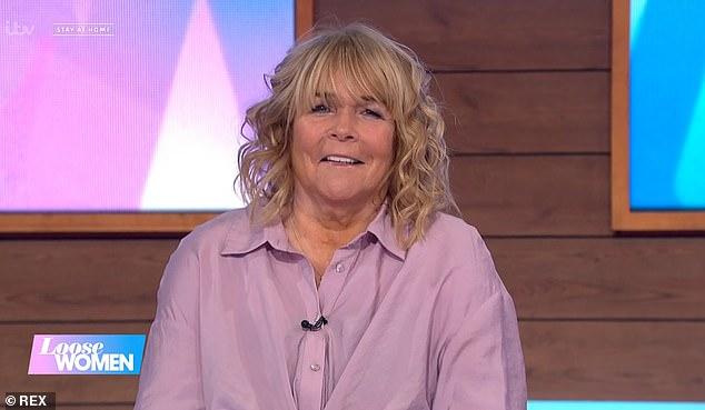 Speaking out: Linda Robson has denied ever having a feud with her her Birds Of A Feather co-star Pauline Quirke