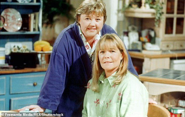 Fall out? Back in February, it was claimed Pauline, 61, is no longer on amicable terms with Linda, 62, (pictured 1988)
