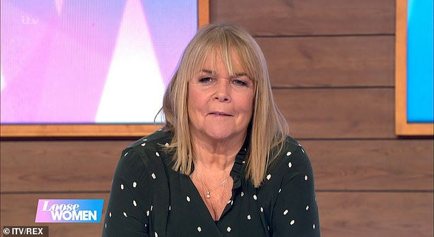 Honest: The Loose Women panellist, 62, said that the rumours of a falling out are a 'load of old codswallop'
