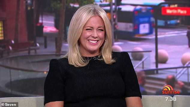 Hilarious : Samantha burst into laughter when Sam Mac asked Samantha if he was the 'sociopath or narcissist' she had previously spoken about publicly