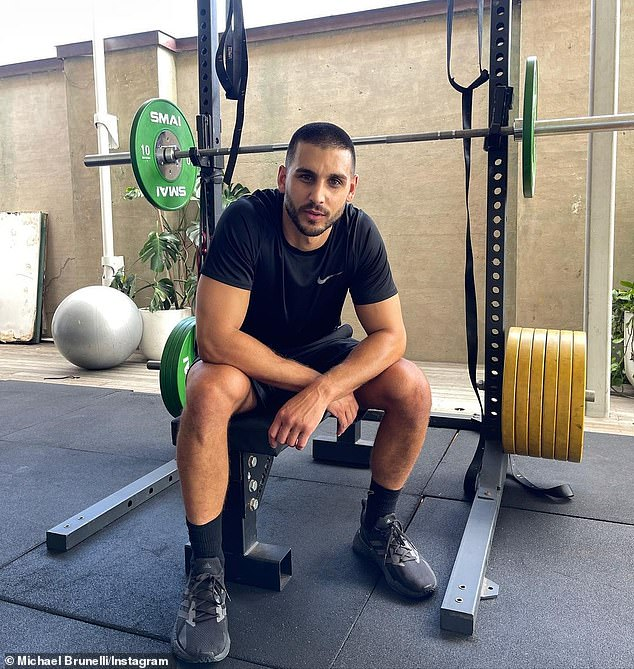 Online entrepreneur: He then launched his online personal training business Tru Fit By Michael