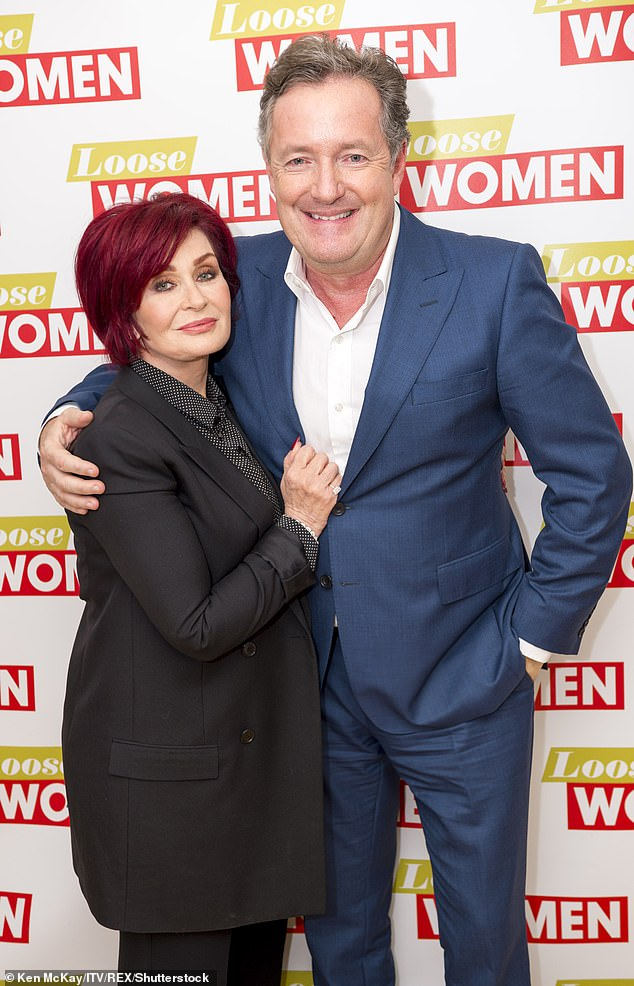 Morgan had praised Osbourne for tweeting her support for him. Following her u-turn, he slammed what he described as 'bullies' on The Talk for 'shaming' her into apologizing