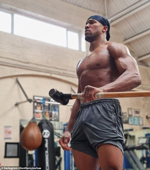 Anthony Joshua has stayed in pristine condition since his knockout win over Kubrat Pulev