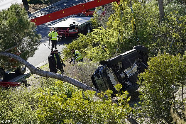 The sheriff is expected to reveal that Woods was doing 83mph in a 45mph speed zone before the rollover crash